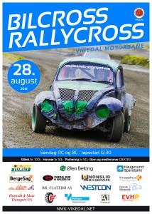 2016 08 28 Plakat Rallycross Bilcross